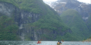 seakayak the fjords of norway