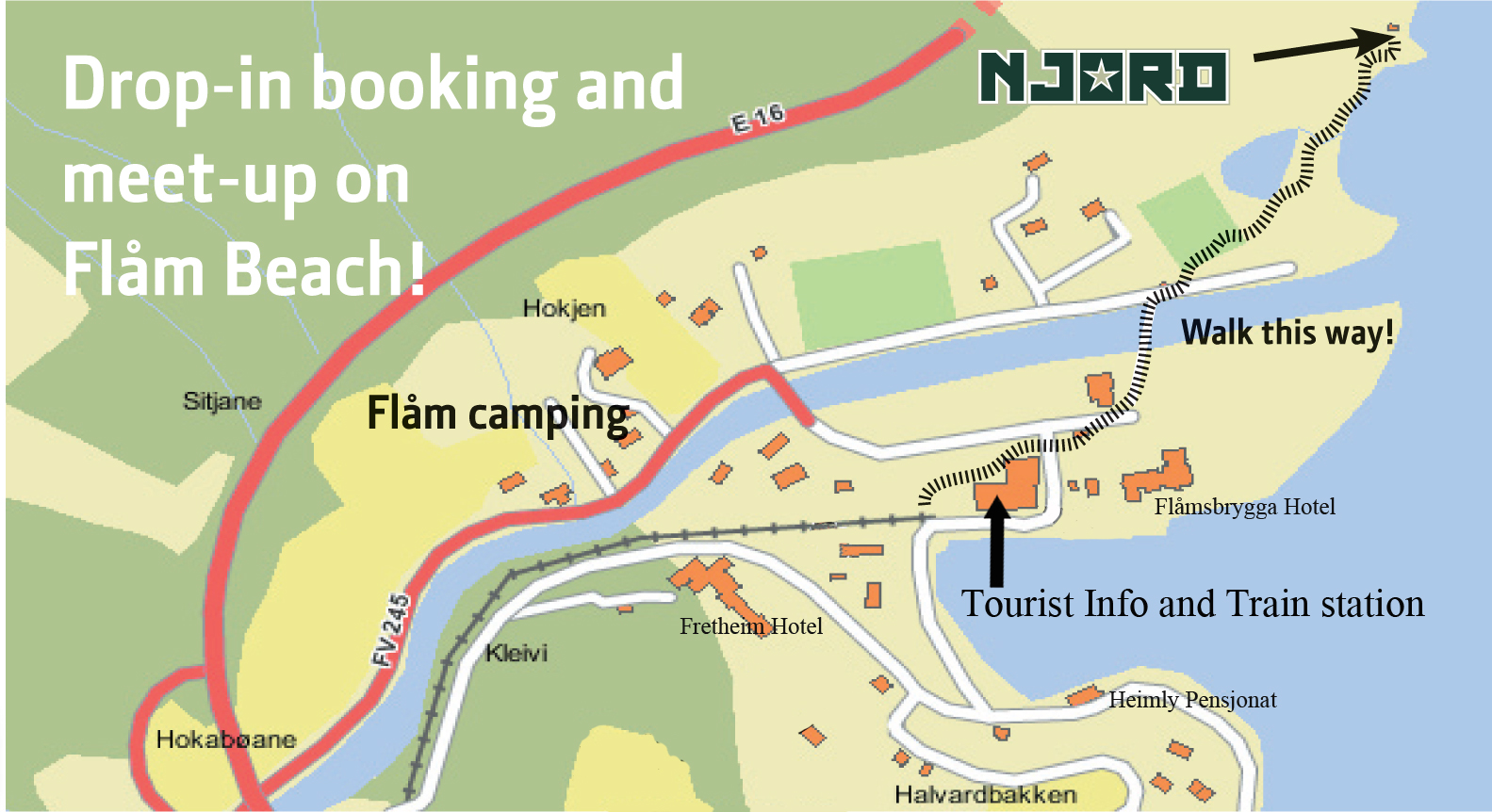 Where To Find Us Njord Seakayak And Wilderness Adventures - Find us map
